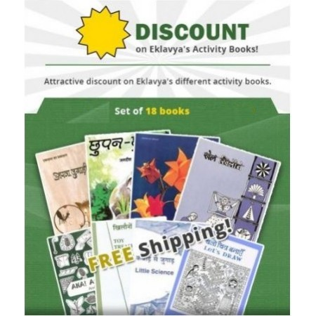 18 Activity Books Set
