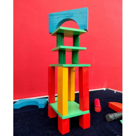 Block Set (Nurturing the designing aptitude in early learners)